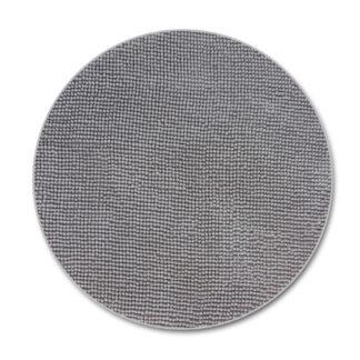 beżowy okrągły dywan