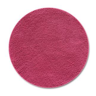 różowy dywan okrągły antypoślizgowy