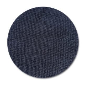 grafitowy dywan okrągły