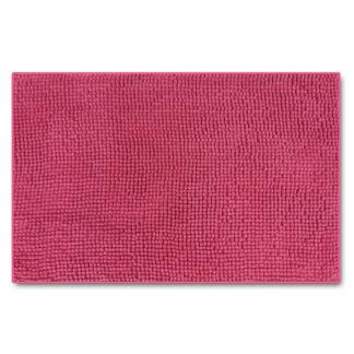 różowy dywanik prostokątny