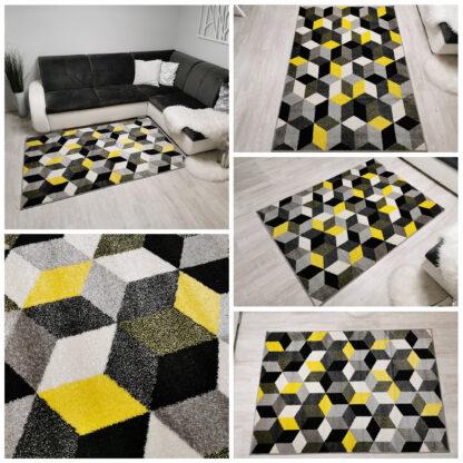 nowoczesny-żółty-gęsty-dywan