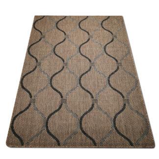 brązowy dywan falka sizal