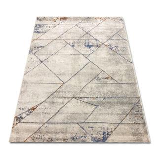 Nowoczesny dywan geometryczny kolor