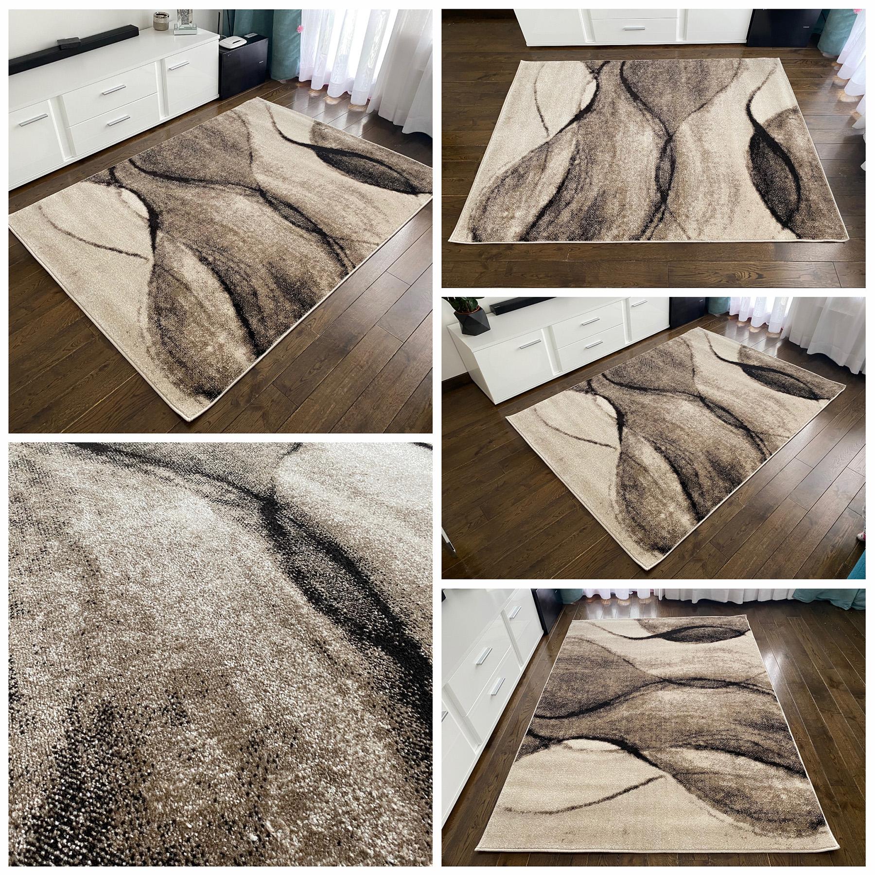 gruby dywan nowoczesny