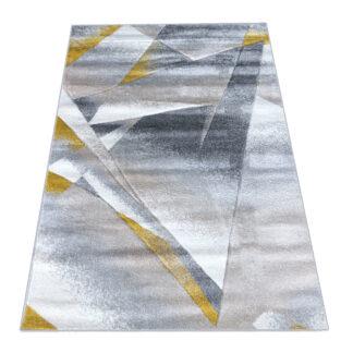 Pieknye nowoczesny dywan geometryczny