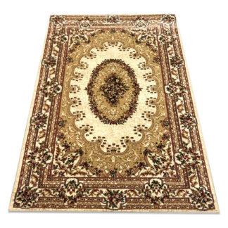 beżowy dywan tradycyjny