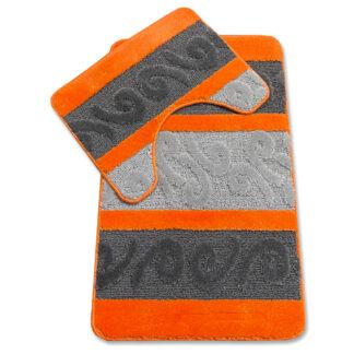 dywanik łazienkowy pomarańcz