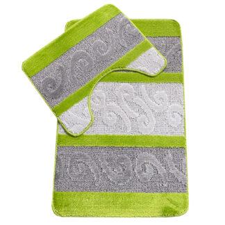 limonkowy dywanik łazienkowy