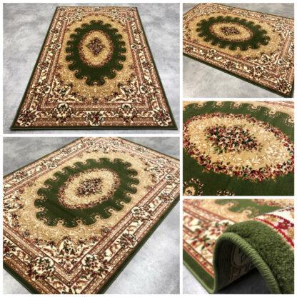 zielony dywan klasyczny gÄ™sty