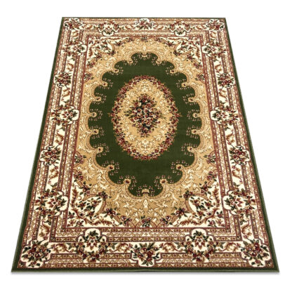 zielony dywan klasyczny gruby