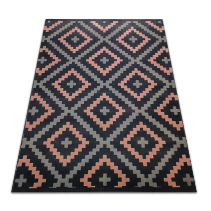 różowy dywan pudrowy