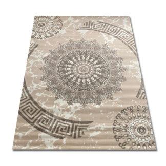 Klasyczny dywan kremowy