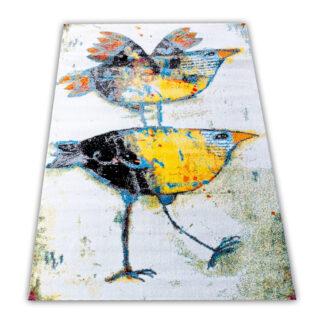 nowoczesny dywan modny
